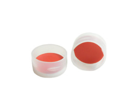 11x1mm PTFE Silicone Septa Snap Cap used on 2ml Snap Automsampler vials