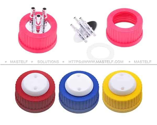 GL45 SAFETY CAP AND STAINLES STEEL CAP