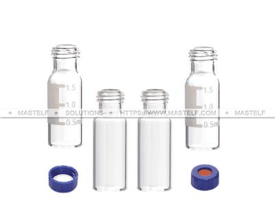 2ML ND9 Screw Clear Glass Vials, Autosampler Vials