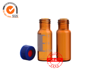 2ml Amber HPLC Vials, Soft pp Packing ND9