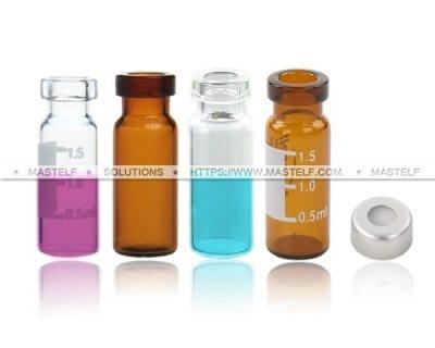 2ml Clear GC Vials Crimp Top Vials ND11