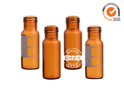2ml Amber Glass Vials Screw Top Autosampler Vials ND9