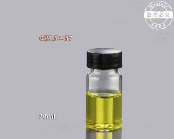 20ml Clear Vial, Glass Sample Vial ND24