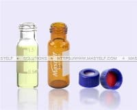 2ml Amber Glass Vials Screw Top Autosampler Vials ND9
