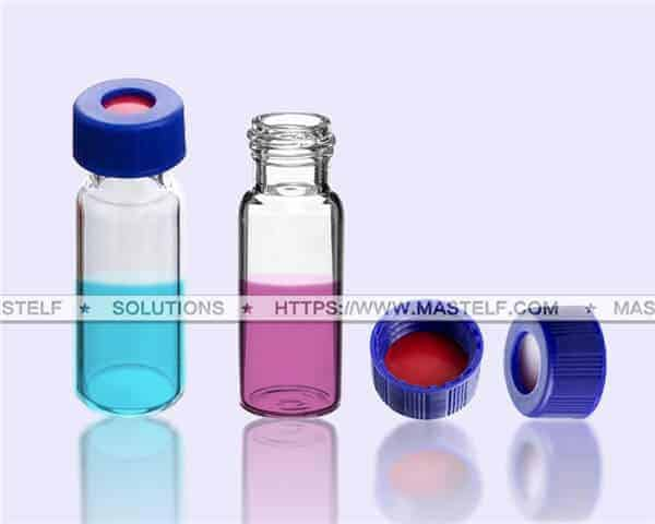 1.5ml Vial Autosampler Vials with Closure and Septum ND9