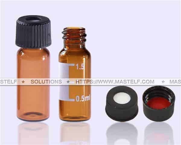2ml Amber HPLC Vials ND8