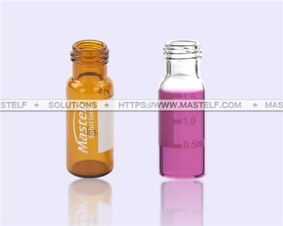 2ml Screw Thread Glass Autosampler Vials for Laboratory uses