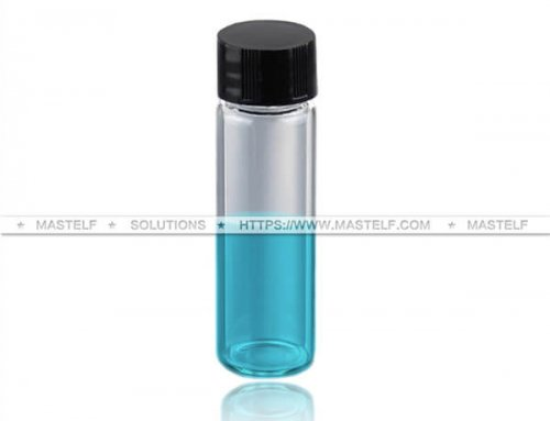 30ml Clear Borosilicate Tubular Vials