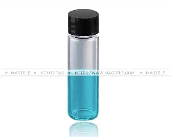 30ml Clear Borosilicate Tubular Vials